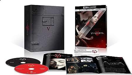 Action Thriller V FOR VENDETTA arrives on 4K Ultra HD for the first time Nov. 3 from Warner Bros.