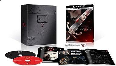 V for Vendetta Giftset (Amazon/Film Book/4K Ultra HD + Blu-ray + Digital)