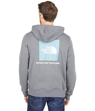 The North Face Box Nse Pullover Hoodie (TNF Medium Grey Heather) Men