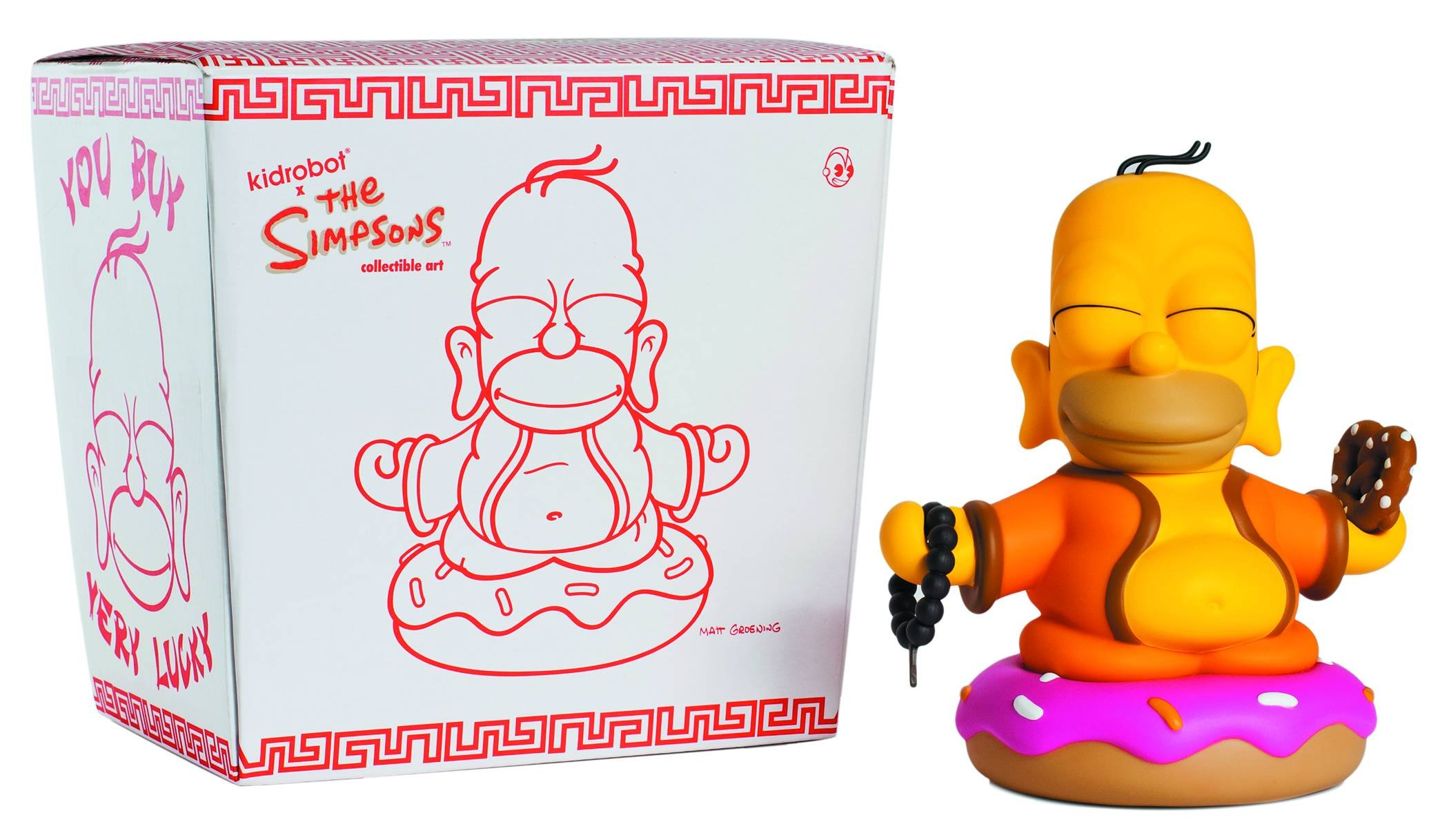 "Kidrobot Keychains série 1 les Simpsons Sideshow Mel 1.5/"" 3D Vinyl Keychain Case"