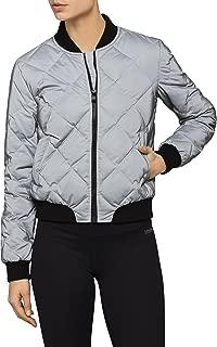 Calvin Klein Women's Reflective Bomber Jacket