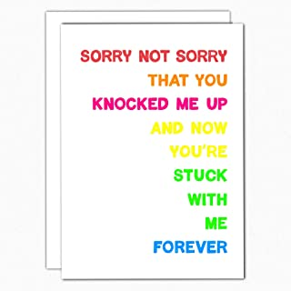 Funny Fathers Day Card I5 Im So Happy Youre The One Who Knocked Me Up