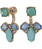 Marchesa - Small Stone Floater Earrings