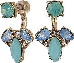 Small Stone Floater Earrings