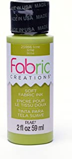 lime green fabric paint