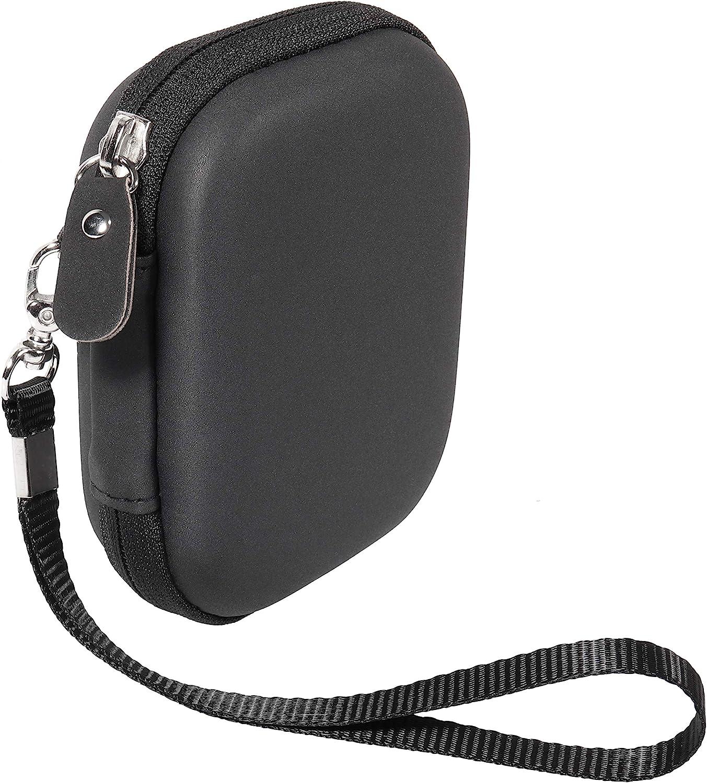 getgear Handy Case for Samsung T7 Touch Portable SSD, T5, Card Reader, USB Hub, Type C Hub, HD Hub,Mesh Pockets, Wrist Strap