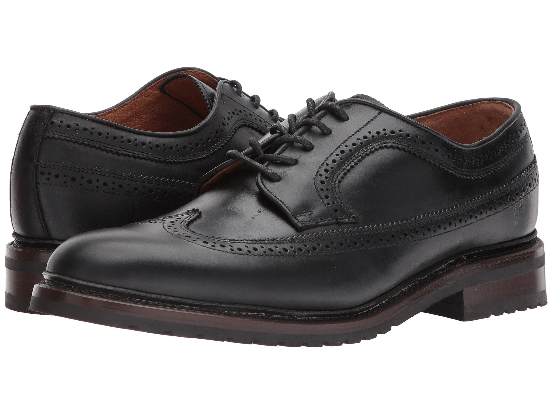 Frye  , BLACK WATERPROOF SMOOTH PULL UP