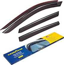 Goodyear Side Window Deflectors for Mazda CX-5 2017-2019, Tape-on Rain Guards, Window Visors, 4 Pieces - GY003129