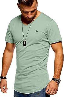 JACK & JONES Men's Short-Sleeved T-Shirt Oversize Basic V-Neck