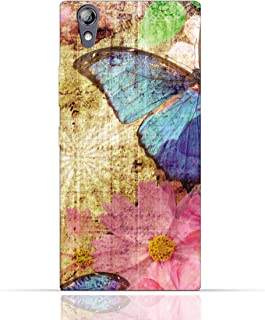 Lenovo P70 TPU Silicone Case with Vintage Butterfly Pattern