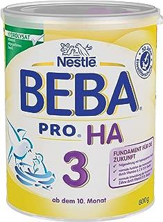 Nestlé 雀巢 BEBA 贝巴 Pro Ha 婴幼儿配方奶粉 3段 1 x 800g