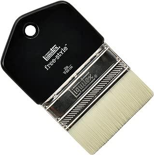 Liquitex Professional Freestyle Large Scale Brush, Paddle 3-inch, Black