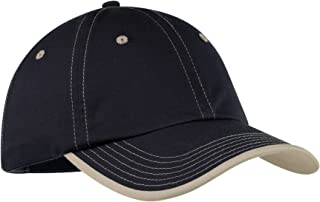 Men's Vintage Washed Contrast Stitch Cap