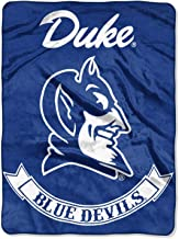 The Northwest Company Duke Blue Devils Rebel Raschel Throw Blanket 60 x 80