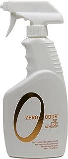 Zero Odor Pet Stain Remover and Molecular Odor Eliminator, 16-Ounces
