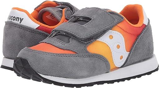 Grey/Orange Fade
