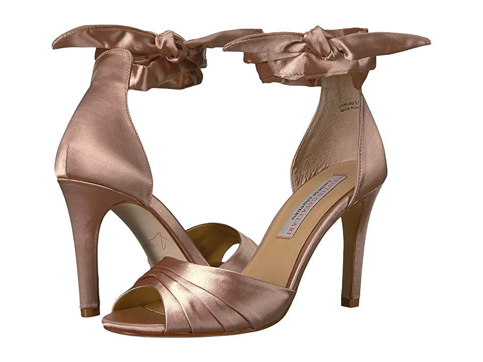 Kristin Cavallari Lilac Heeled Sandal (Summer Nude Satin) High Heels