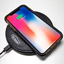 FH Group FH3013 Wireless Charger + Phone Stand Dashboard Phone Holder Multi-use for iPhone Xs Max/XS/XR/X/8Plus/8 and for Samsung S9/S9+/S8/S8+/Note9/Note8 & Other Smartphone