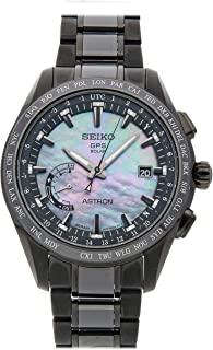 Seiko Astron Quartz (Battery) Black Dial Mens Watch SSE091 (Certified Pre-Owned)