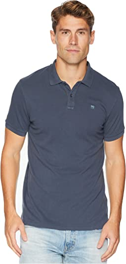 Classic Garment-Dyed Pique Polo
