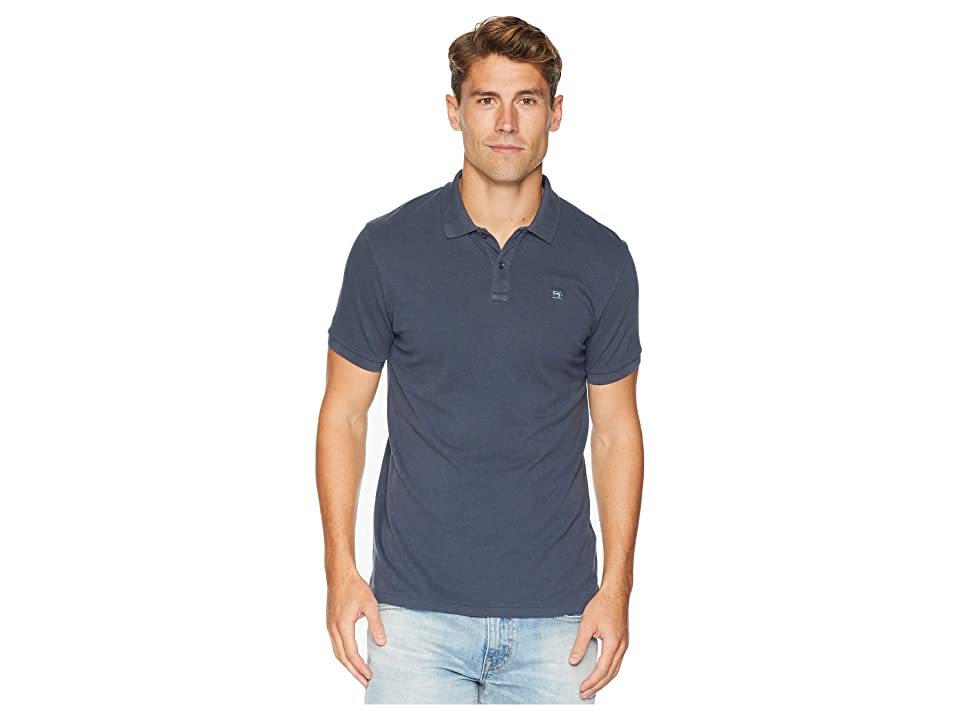 Scotch & Soda Classic Garment-Dyed Pique Polo (Antra) Men