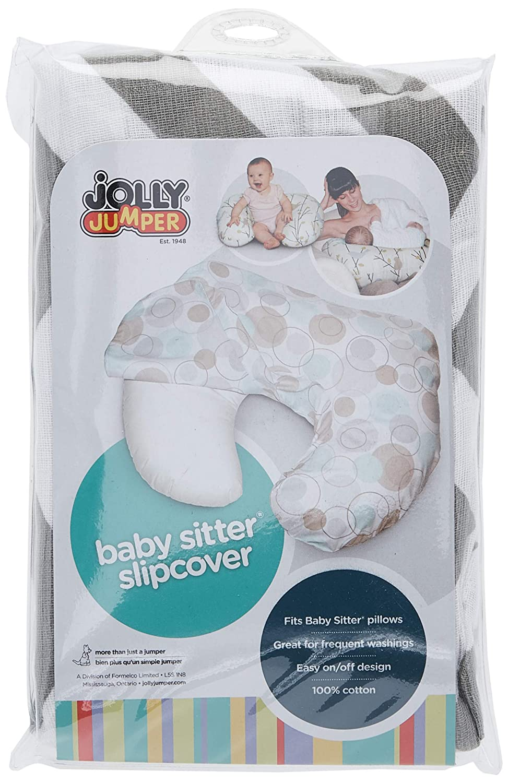 Baby Sitter Slip Cover, Grey Chevron