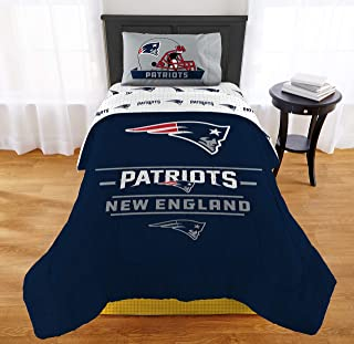 """The Northwest Company NFL New England Patriots """"Monument"""" Twin/Full Comforter #318934799"""