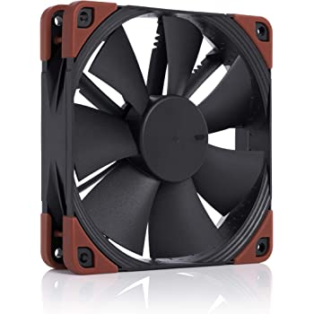 Noctua NF-F12 iPPC-2000 PWM, Heavy Duty Cooling Fan, 4-Pin, 2000 RPM (120mm, Black)