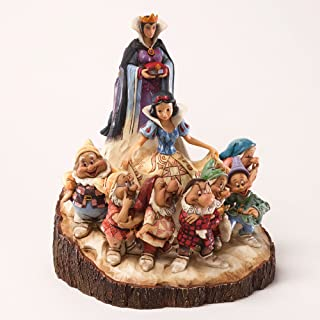 Disney Traditions by Jim Shore Wood Carved Snow White Figurine