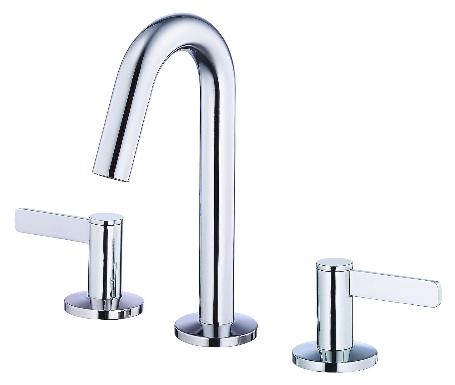 Danze D304130 Amalfi Two Handle Mini-Widespread Lavatory Faucet, Chrome