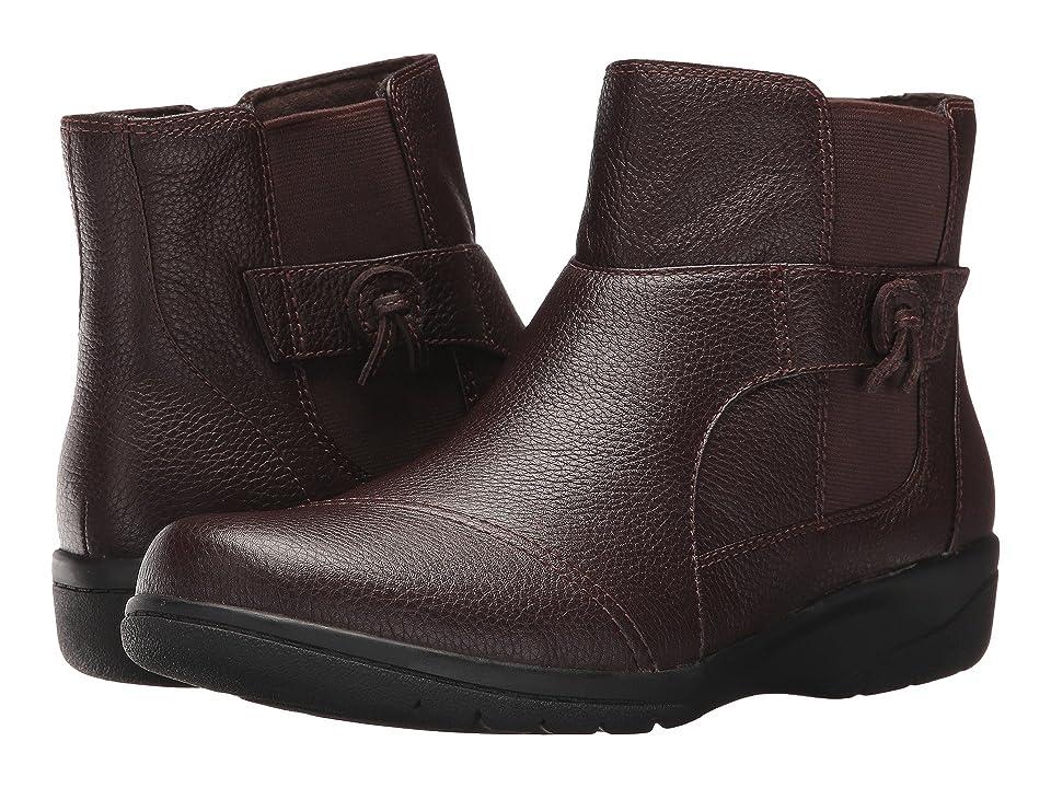 Clarks Cheyn Work (Dark Brown) Women's Shoes