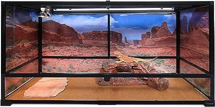 Carolina Custom Cages Terrarium, Tall Extra-Long 48Lx18Dx24H, Easy Assembly