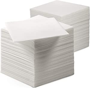 200 Linen-Feel Luncheon Paper Napkins - Disposable Lunch Napkins For Everyday Use - Ideal For Lunch, Dinner, Parties, Weddings, Restaurants, Or Event