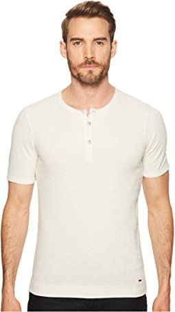 BOSS Orange - Trixer Short Sleeve Henley Shirt
