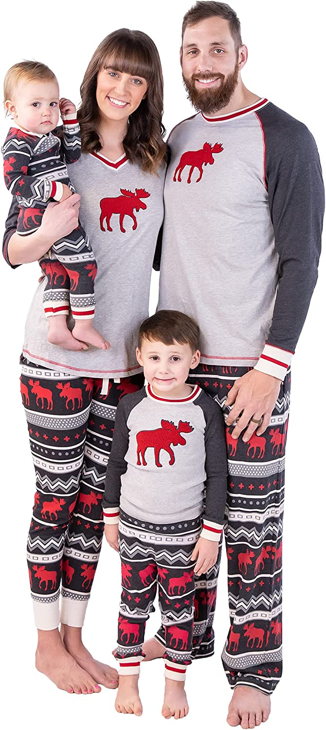 Lazy One Matching Family Pajamas for Adults, Kids, and Babies