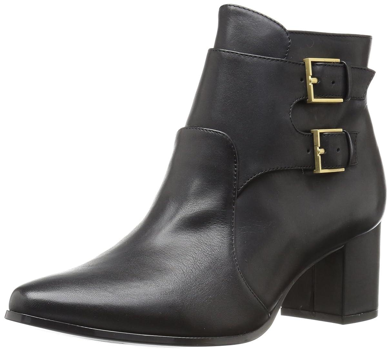夜テント病な[Calvin Klein] レディース Florine Leather カラー: ブラック