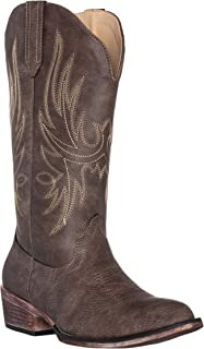 Womens Western Cowgirl Cowboy Boot, Dallas Pointed Toe by Silver Canyon