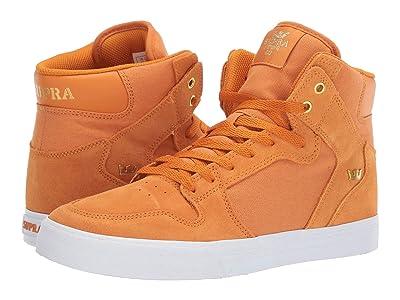 Supra Vaider (Desert/Gold/White) Skate Shoes