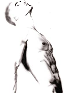 Acrylic Painting on white painting paper/Male Nude / 100% Hand Painted Black and White/Signed original Gay Art Sale/Sexy/M...