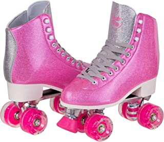 Roller Skates for Outdoor Skating, Faux Leather