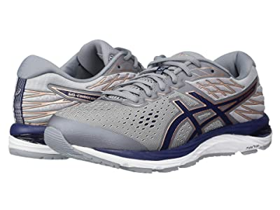 ASICS GEL-Cumulus(r) 21 (Sheet Rock/Peacoat) Women