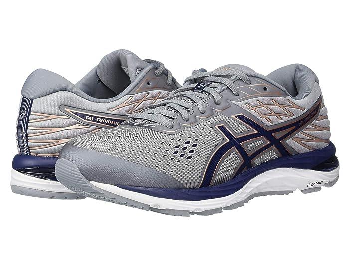 ASICS  GEL-Cumulus 21 (Sheet Rock/Peacoat) Womens Running Shoes