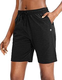 Women's Bermuda Shorts Jersey Shorts with Deep Pockets 7
