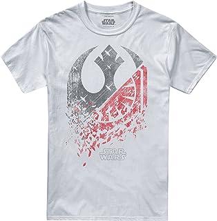 Star Wars Split Logo Camiseta para Hombre