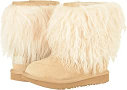 UGG Kids - Classic Short II Fluff (Little Kid/Big Kid)