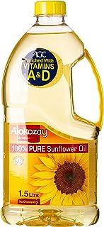 Alokozay Pure Sunflower Oil, 1.5 L