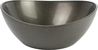 EcoSmart PolyGlass 3qt Serving Bowl, Black, Recycled Plastic and Glass, Made in the USA by Architec