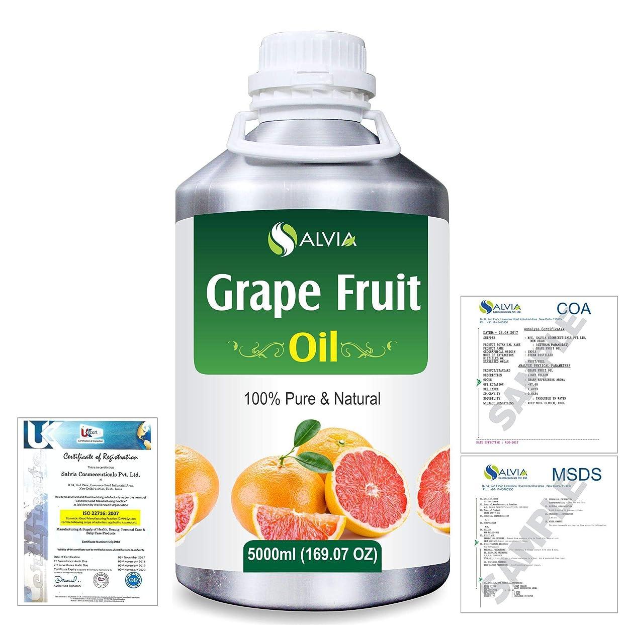 壁ドラゴン誘導Grapefruit (Citrus paradisi) 100% Natural Pure Essential Oil 5000ml/169fl.oz.