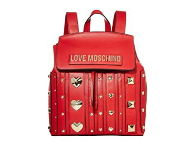 LOVE Moschino Love and More Backpack (Red) Backpack Bags