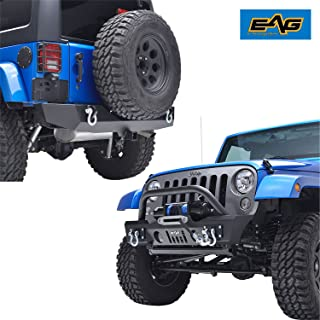 Best jeep front bumper with receiver Reviews